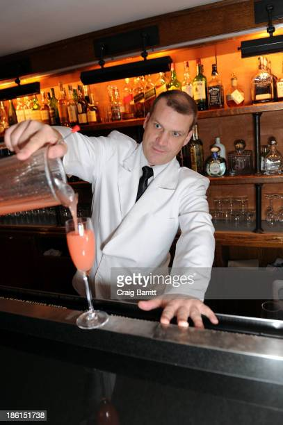 A perfect bellini at Assouline and Cipriani host the launch of 'Simply Italian' at Cipriani Wall Street on October 28 2013 in New York City