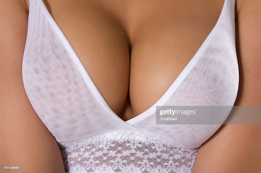Perfect Breasts Stock Photo