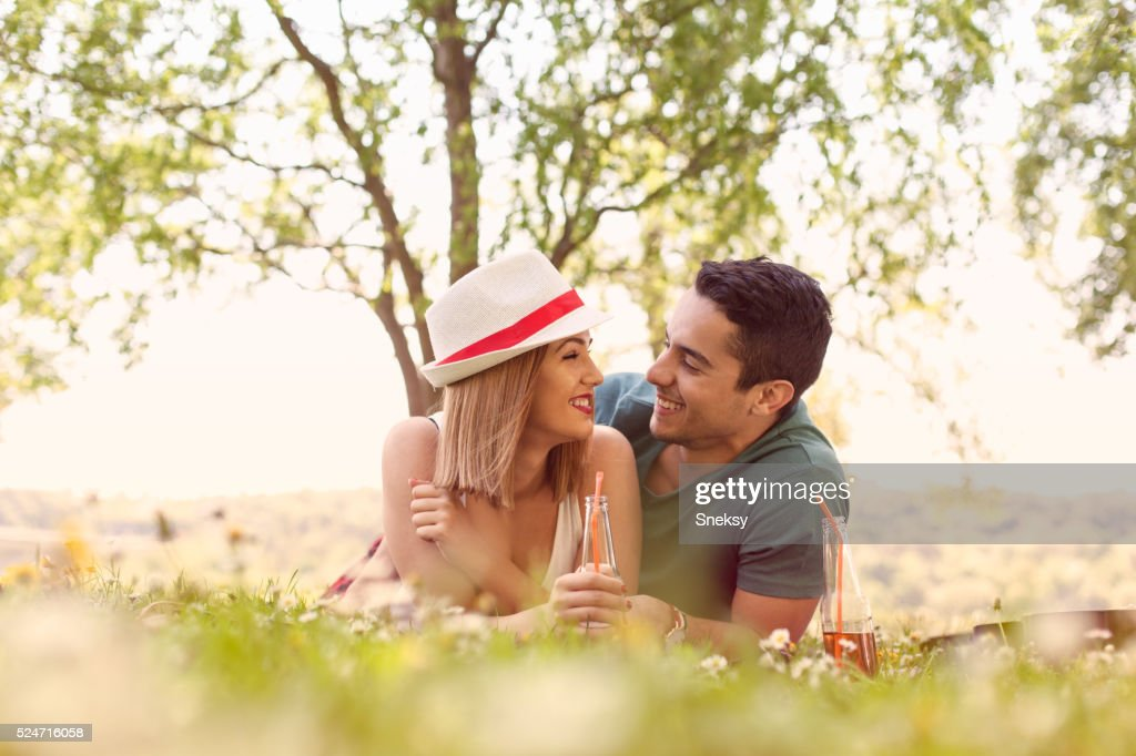 Perfect day at the park : Stock Photo