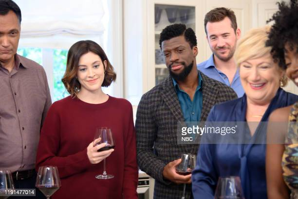 LAW Perfect Day Episode 110 Pictured Jimmy Smits as Elijah Strait Caitlin McGee as Sydney Strait Michael Luwoye as Anthony Little Barry Sloane as...