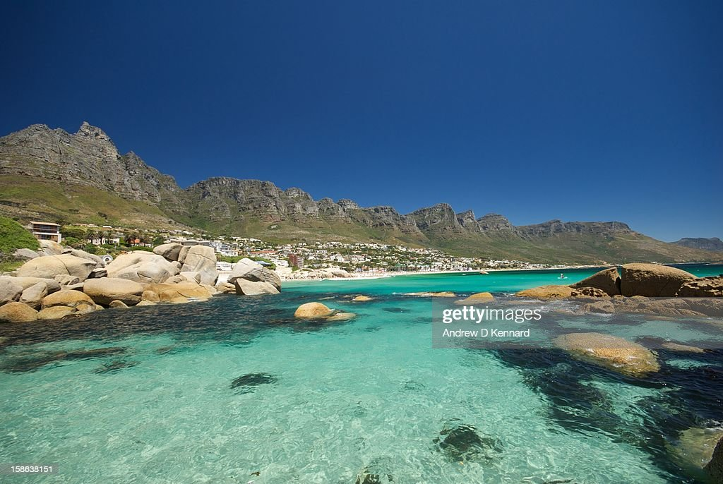 Perfect Day in Camps Bay : Stock Photo