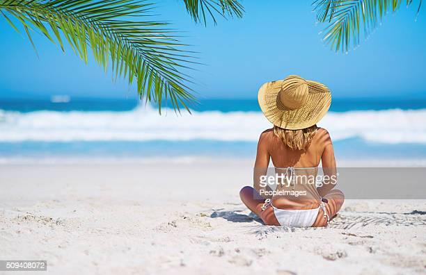 Paraíso perfeito dia em