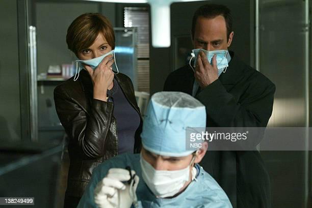 UNIT Perfect Episode 24 Pictured Mariska Hargitay as Detective Olivia Benson Gale Harold as Dr Lang Christopher Meloni as Detective Elliot Stabler