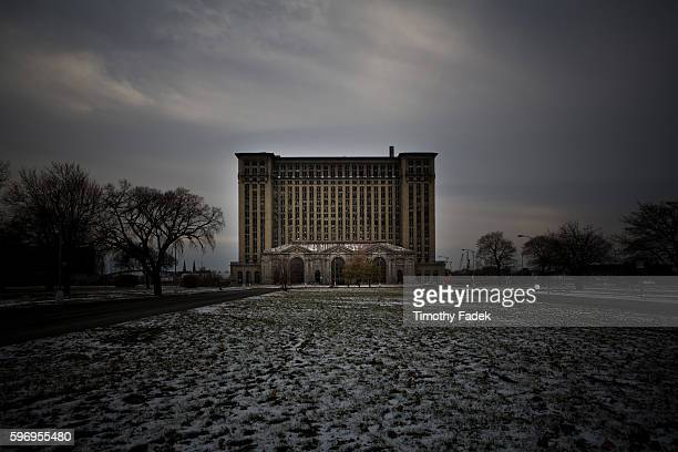 A perfect example of Urban Decay in America known as Detroit's abandoned train station AKA Michigan Central Station Michigan Central Station once was...