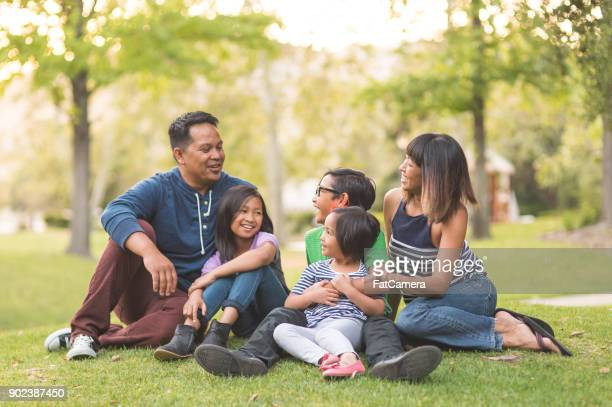 a perfect family day at the park - philippine independence day stock pictures, royalty-free photos & images
