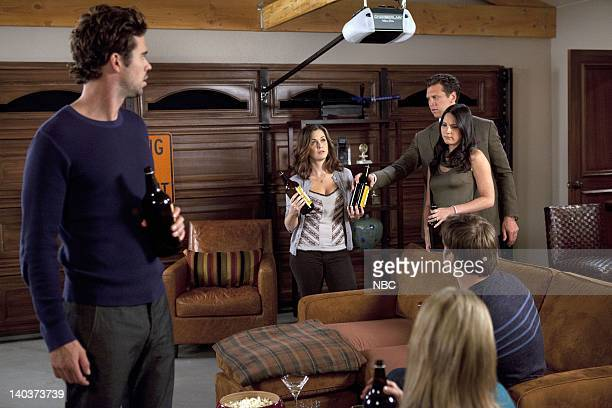 COUPLES Perfect Health Episode 105 Pictured David Walton as Vance Christine Woods as Julia Mary Elizabeth Ellis as Amy Hayes MacArthur as Rex Olivia...