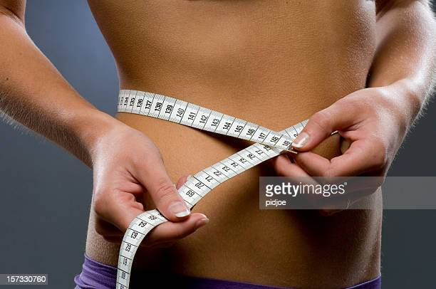 perfect hips - bulimia stock photos and pictures