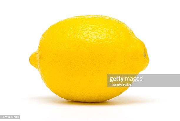 完璧なレモン - 一つ ストックフォトと画像