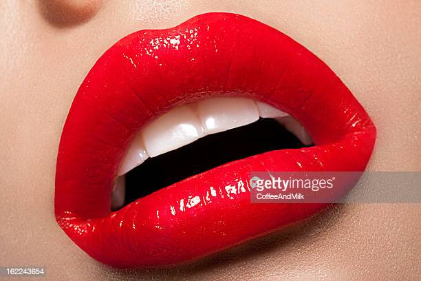 perfect lips - human lips stock pictures, royalty-free photos & images