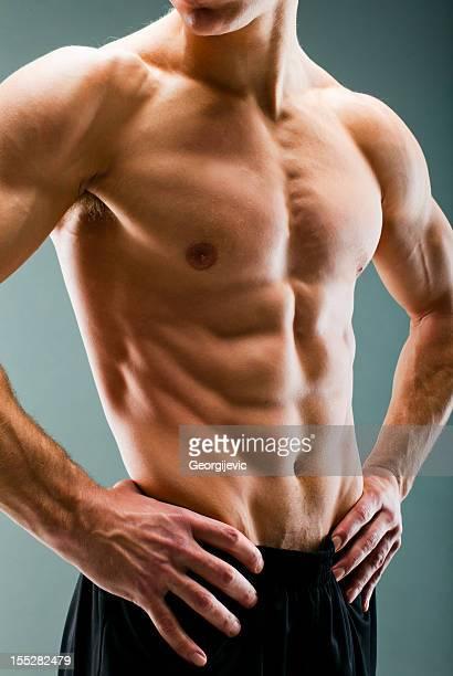 Perfekte männliche Körper
