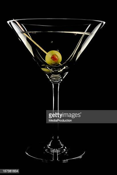 perfect martini - martini glass stock pictures, royalty-free photos & images