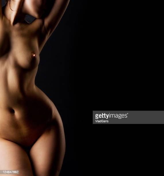 menina nude perfeita torso - vlad models - fotografias e filmes do acervo