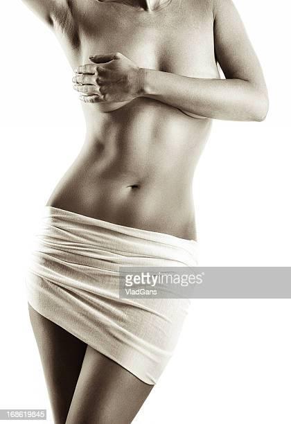 Perfect nude girl torso