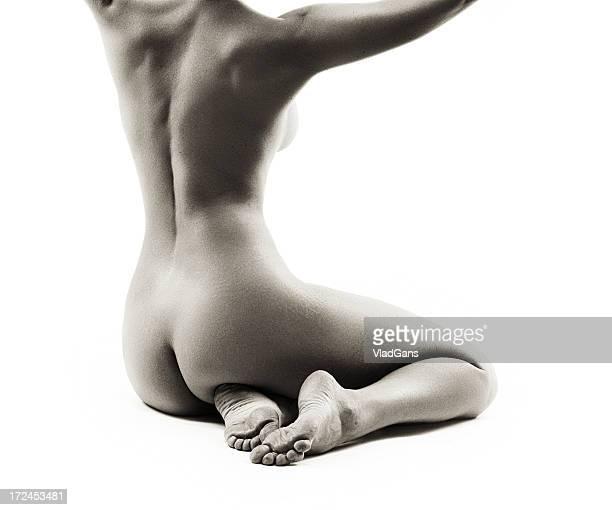 ragazza torso nudo perfetto - donna schiena nuda foto e immagini stock