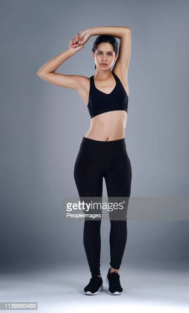 perfect poise and posture - armpit woman stock pictures, royalty-free photos & images
