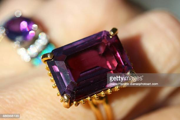 perfect purple! - amethyst stock photos and pictures