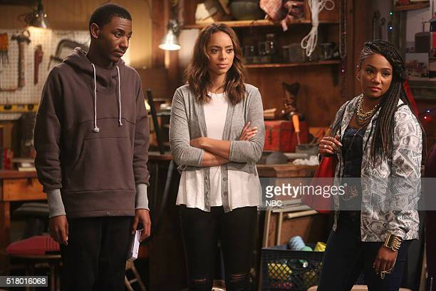 SHOW Perfect Storm Episode 205 Pictured Jerrod Carmichael as Jerrod Carmichael Amber Stevens West as Maxine Tiffany Haddish as Nekeisha