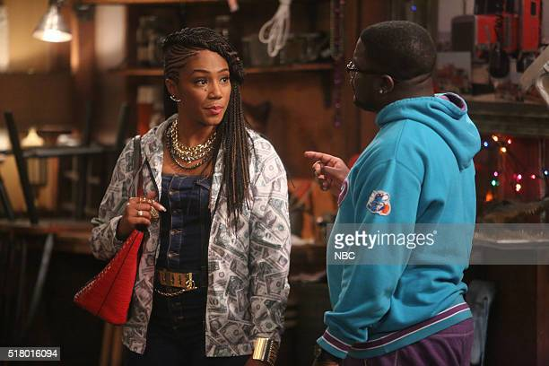 SHOW Perfect Storm Episode 205 Pictured Tiffany Haddish as Nekeisha Lil Rel Howery as Bobby Carmichael
