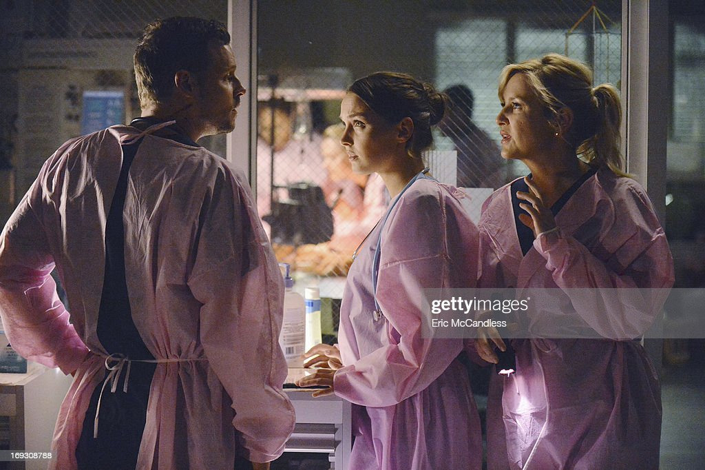 S ANATOMY - 'Perfect Storm' - Grey Sloan Memorial Hospital enters crisis mode as the storm rages, resources become scarce and patients flood in by the busload. Meanwhile, one of the doctors fights for their life, on the Season Finale of 'Grey's Anatomy,' THURSDAY, MAY 16 (9:00-10:02 p.m., ET) on the ABC Television Network. JUSTIN