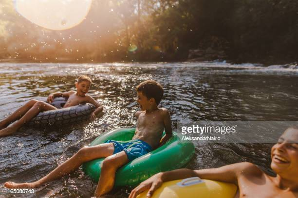 a perfect summer day - tube stock pictures, royalty-free photos & images
