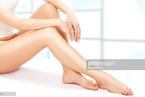 perfect woman body - leg stock pictures, royalty-free photos & images