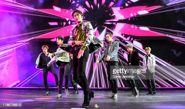 NCT 127 perform at 997 NOW POPTOPIA 2019 Radio show at SAP Center on December 5 2019 in San Jose California