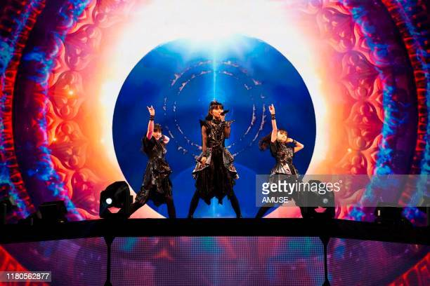BABYMETAL perform during the 'METAL GALAXY WORLD TOUR LIVE' at The Forum on October 11 2019 in Inglewood California