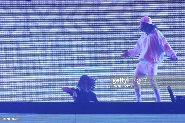 DVBBS perform for the 2018 iHeartRadio FanFest during 2018 Canadian Music Week on May 11 2018 in Toronto Canada