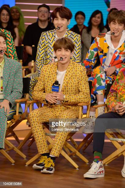 AMERICA BTS perform live on Good Morning America Wednesday September 26 2018 on the Walt Disney Television via Getty Images Television Network GMA BTS