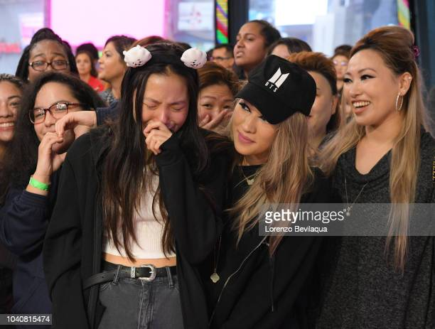 AMERICA BTS perform live on Good Morning America Wednesday September 26 2018 on the Walt Disney Television via Getty Images Television Network GMA...