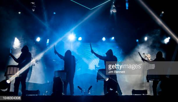 ODESZA perform live on stage during Austin City Limits Festival at Zilker Park on October 5 2018 in Austin Texas