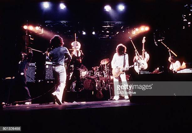 ELO perform on stage circa 1976