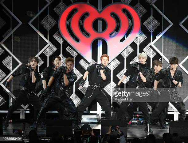 X perform onstage during KIIS FM's Jingle Ball 2018 Presented By Capital One held at The Forum on November 30 2018 in Inglewood California