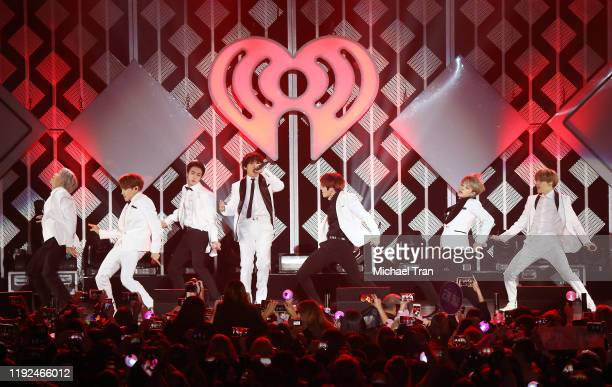 Perform onstage during the KIIS FM's Jingle Ball 2019 presented by Capital One held at The Forum on December 06, 2019 in Inglewood, California.