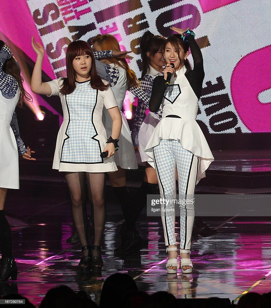 15& perform onstage during the 'Show! Music Core' Live at