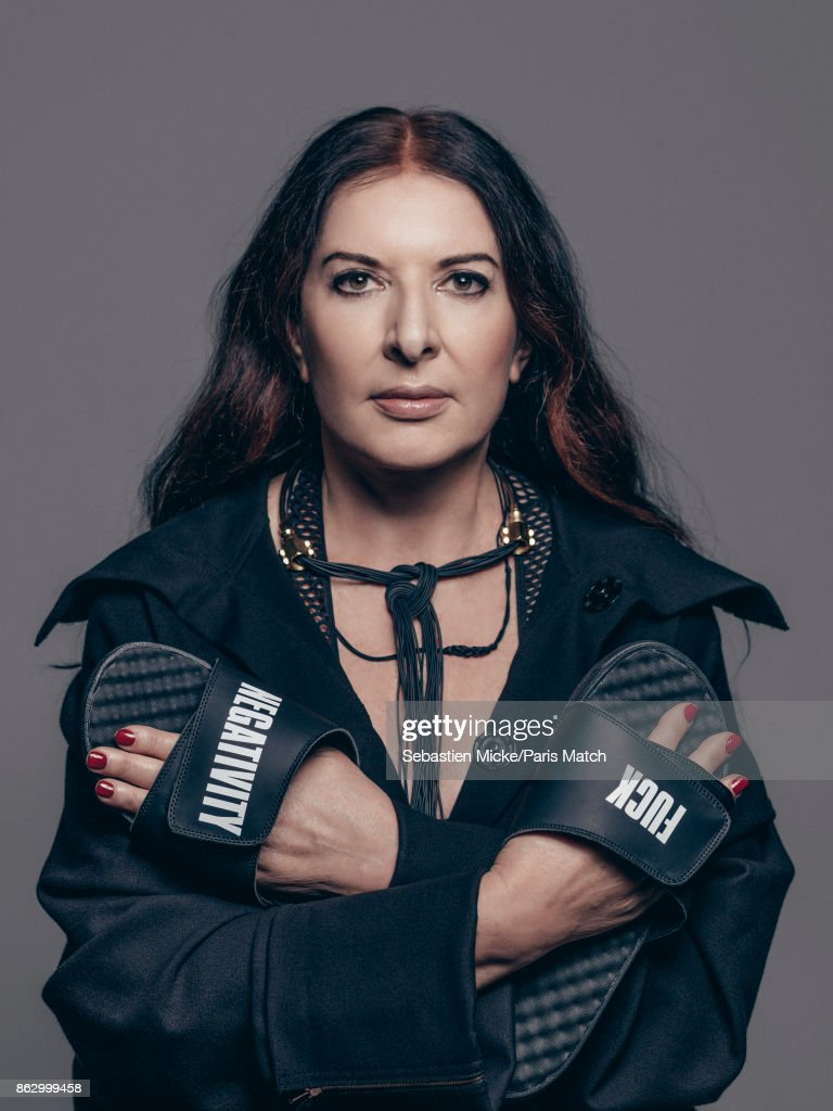 Marina Abramovic, Paris Match Issue 3569, October 18, 2017