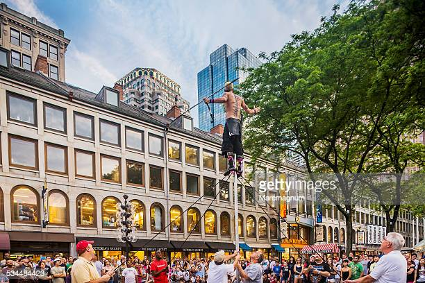 Performance at Faneuil Hall Marketplace