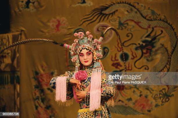 A performance at the Beijing Opera
