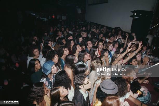 Performance at Whisky A Go Go, a nightclub in West Hollywood, California, circa 1975.