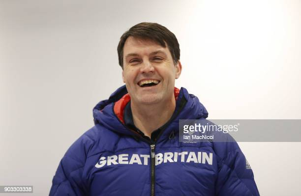 Performance Director Graeme Thompson is photographed at announcement of the ParalympicsGB Wheelchair Curling Team at The National Curling Centre on...