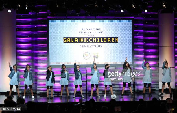 Performance during A Place Called Home's 18th Annual Gala For The Children at The Beverly Hilton Hotel on December 05 2018 in Beverly Hills California