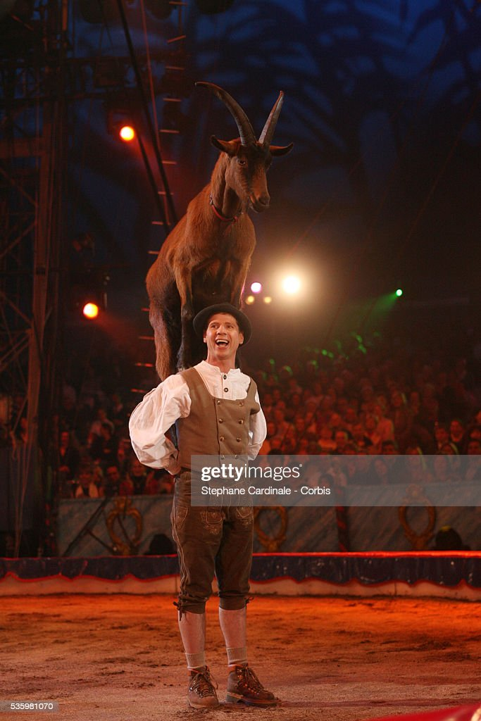 A performance during the 30th Circus Festival of Monte Carlo.