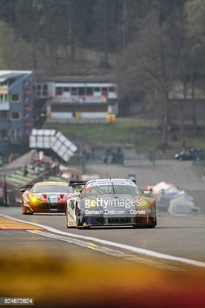 Performance Matmut. Porsche 911 GT3 RSR. Class LMGTE Am. Drivers: Raymond Narac , Jean-Karl Vernay in action during qualifications for Round 2 of the...