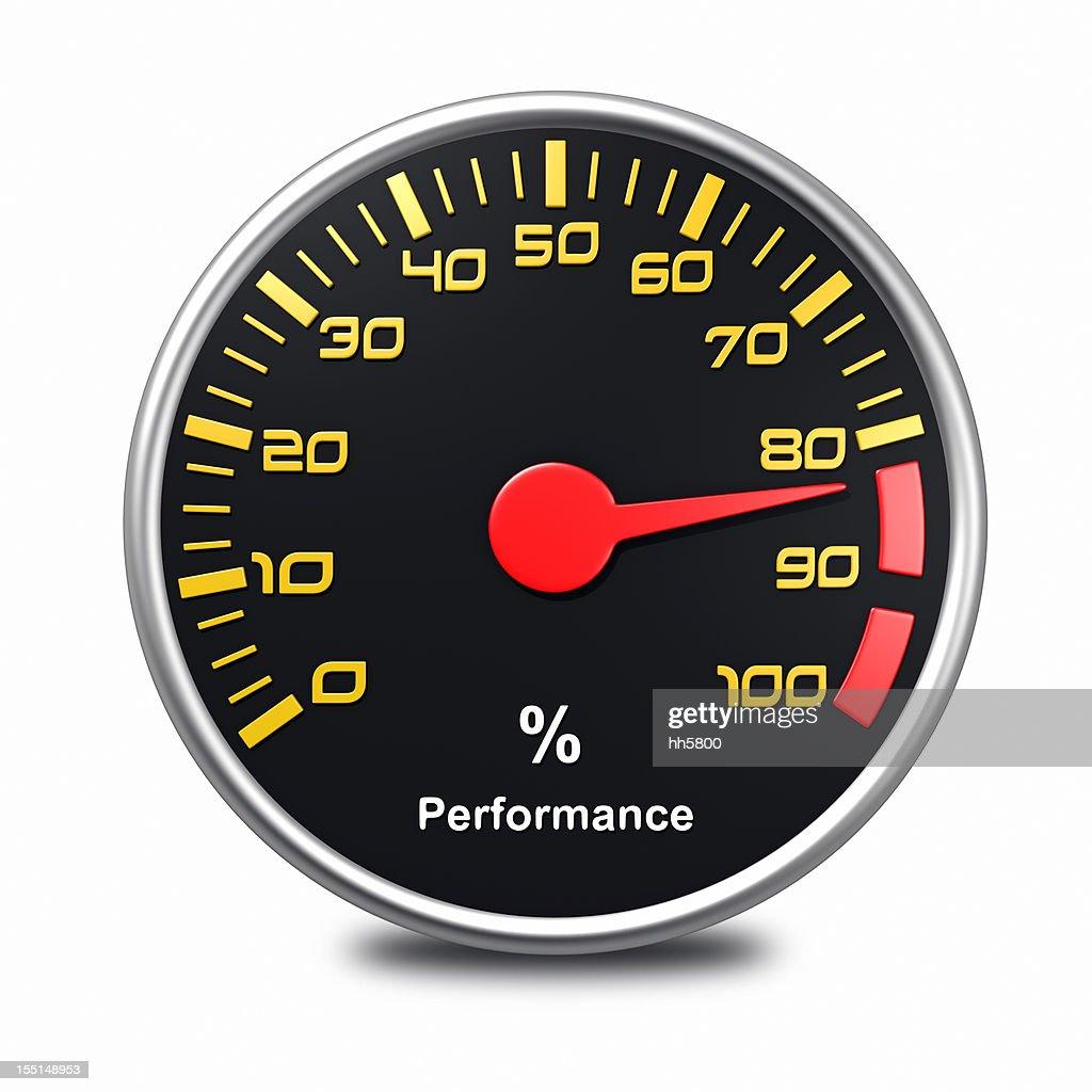 performance meter : Stock Photo
