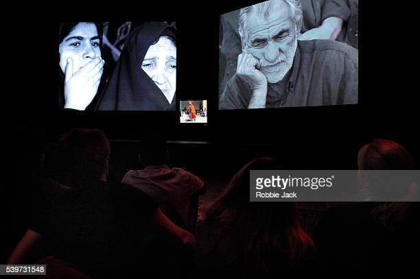 "Performance of Abbas Kiarostami's drama ""Looking At Tazieh"" at The Hub in Edinburgh."