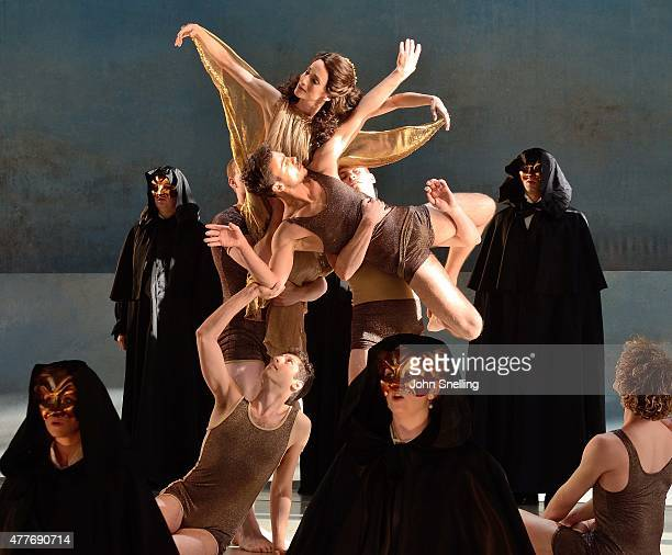 A performance of 'Death in Venice' at Garsington Opera at Wormsley on June 18 as part of the 2015 Season in High Wycombe England