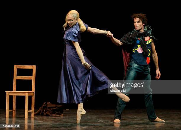 Performance of John Neumeier's ballet 'Liliom' with Carsten Jung as 'Liliom' and Anna Polikarpova as 'Mrs Muskat' in the Hamburgische Staatsoper...