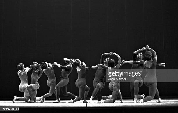 """Performance of Jose Limon's """"Choreographic Offering"""" in 1962."""