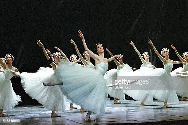 Performance of the ballet 'Giselle' in the Hamburg State Opera choreographer and director John Neumeier
