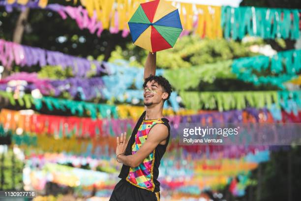 performance of the carnival dancer - recife stock pictures, royalty-free photos & images